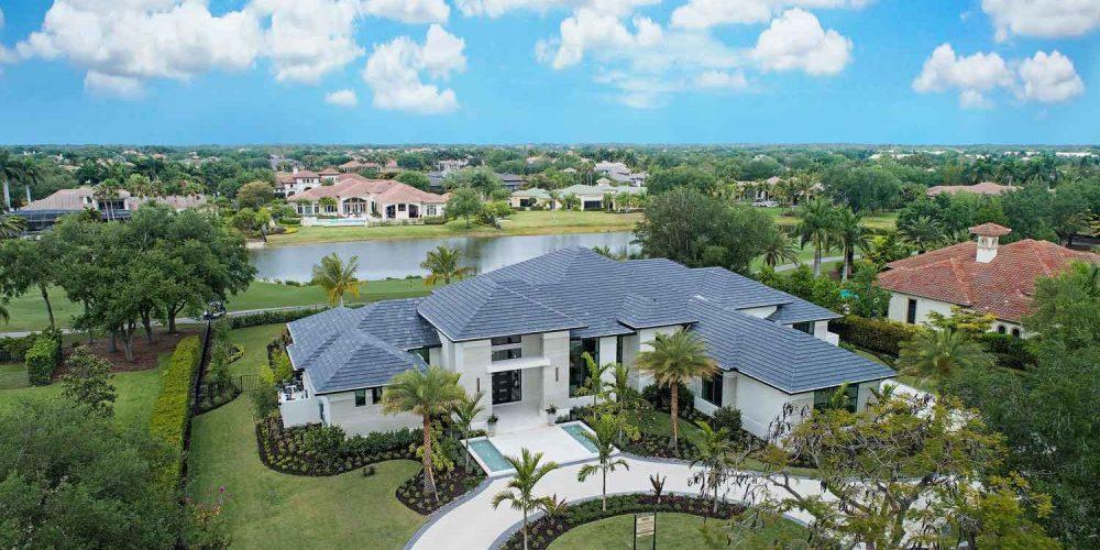 Laurène, Diamond Custom Homes' latest estate model in Quail West Golf & Country Club.