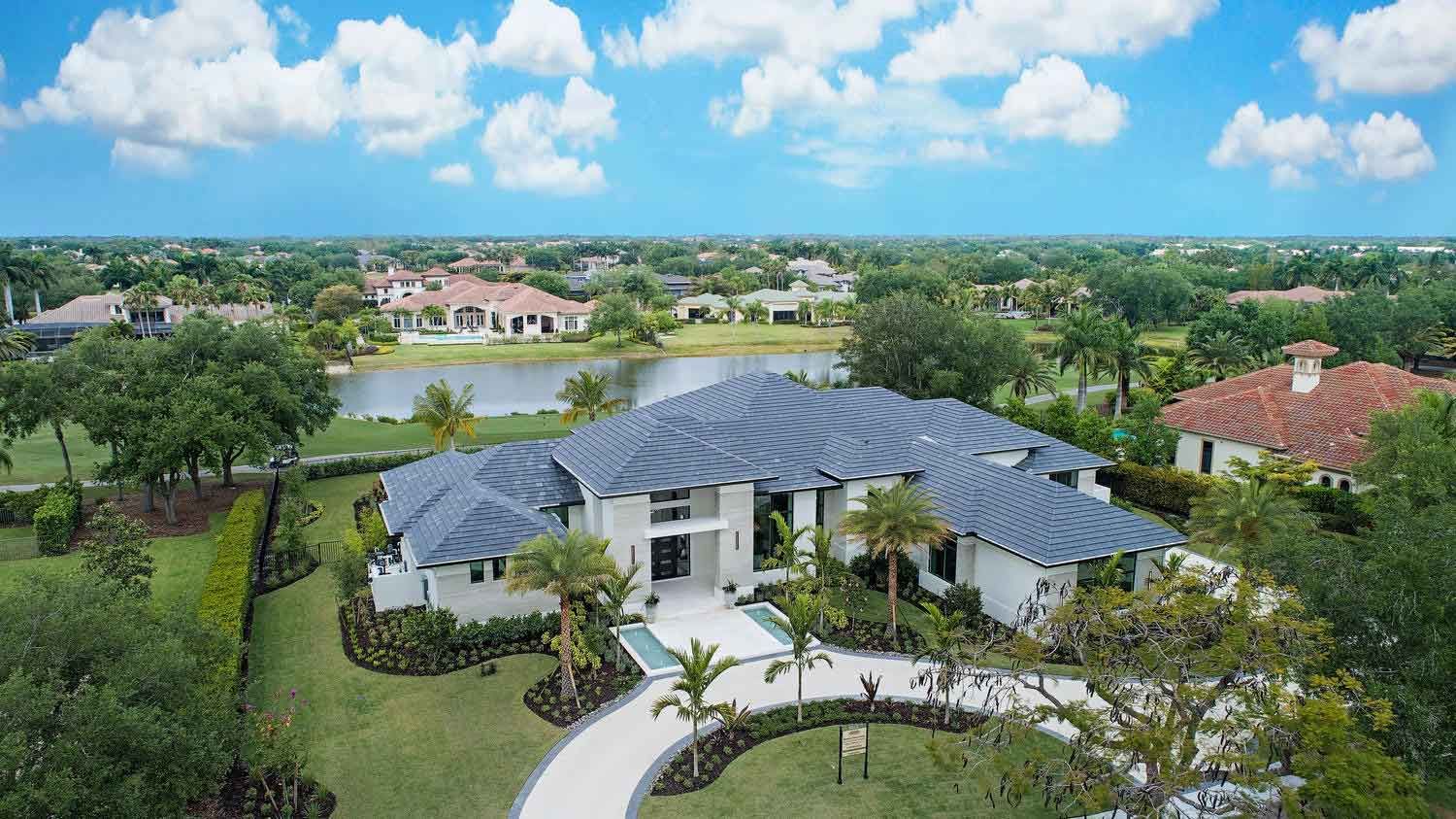 Laurène, Diamond Custom Homes' latest estate model in Quail West Golf & Country Club.