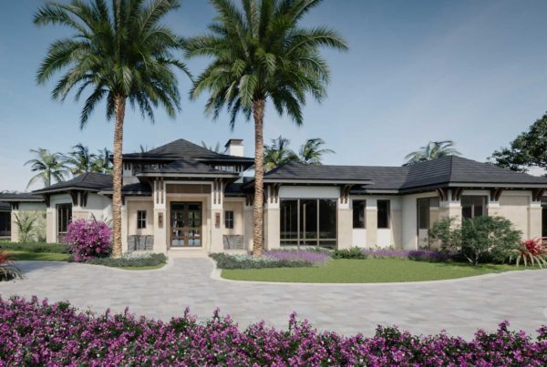 Front view of a Royal Retreat home by Diamond Custom Homes