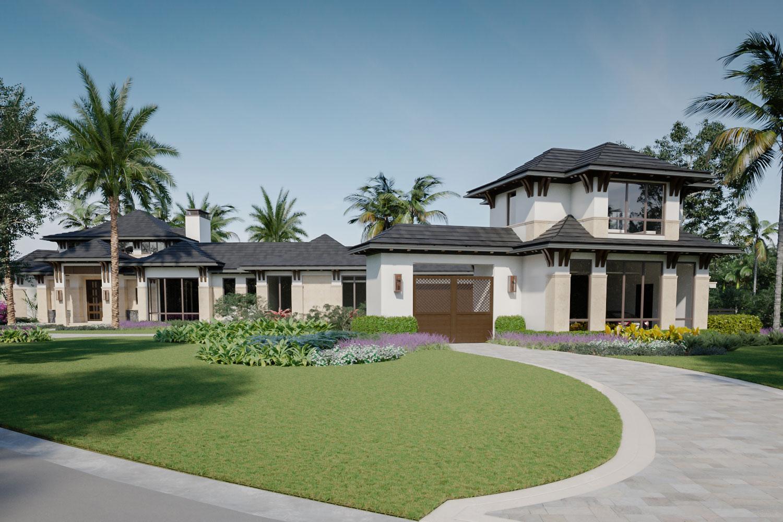 Gate house of a Royal Retreat home by Diamond Custom Homes